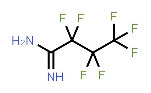Heptafluorobutanamidine