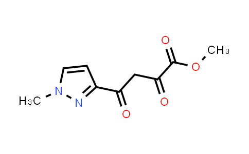methyl 4-(1-methylpyrazol-3-yl)-2,4-dioxo-butanoate