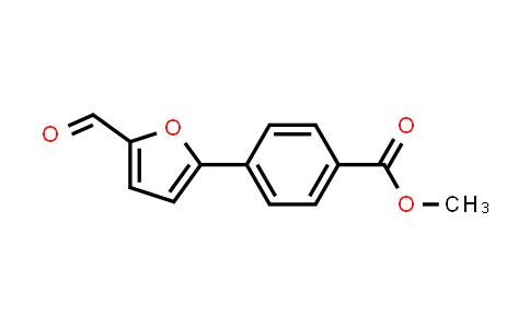 Methyl 4-(5-formyl-2-furyl)benzoate