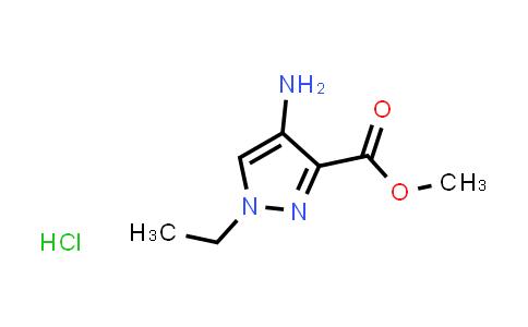 Methyl 4-amino-1-ethyl-1H-pyrazole-3-carboxylate hydrochloride