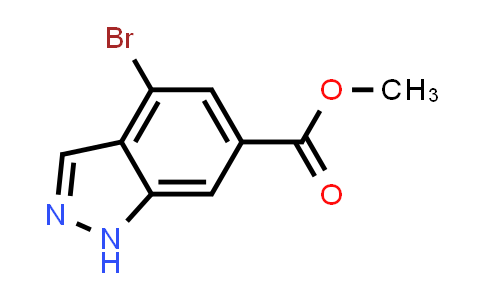 Methyl 4-bromo-1H-indazole-6-carboxylate