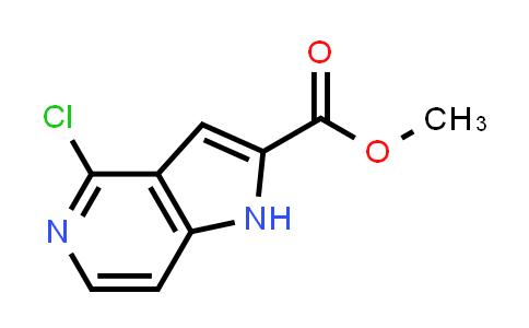 Methyl 4-chloro-1H-pyrrolo[3,2-c]pyridine-2-carboxylate