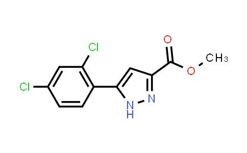 methyl 5-(2,4-dichlorophenyl)-1H-pyrazole-3-carboxylate