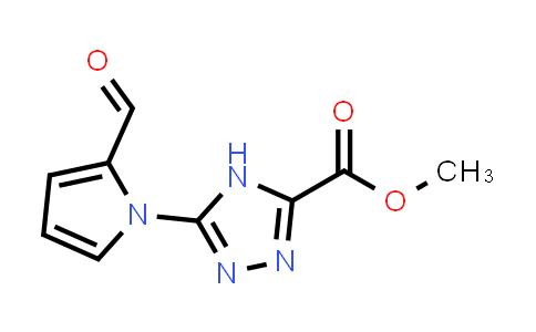 Methyl 5-(2-formylpyrrol-1-yl)-4H-1,2,4-triazole-3-carboxylate