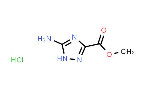 Methyl 5-amino-1H-1,2,4-triazole-3-carboxylate hydrochloride
