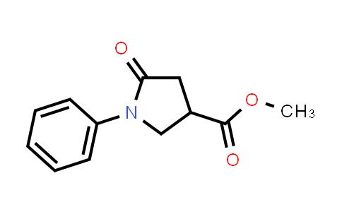 methyl 5-oxo-1-phenyl-pyrrolidine-3-carboxylate