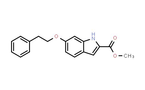 Methyl 6-(2-phenylethoxy)-1H-indole-2-carboxylate
