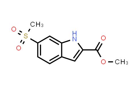 Methyl 6-methylsulfonyl-1H-indole-2-carboxylate