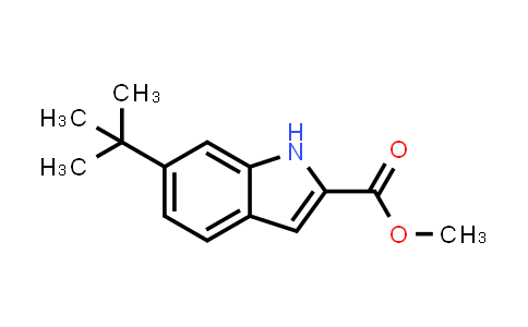 Methyl 6-tert-butyl-1H-indole-2-carboxylate