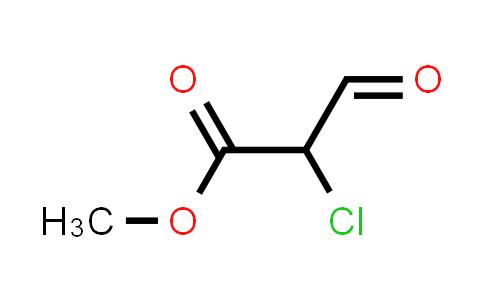 Methyl-2-chloro-2-formylacetate