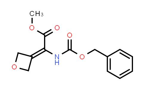 Methyl2-(((benzyloxy)carbonyl)amino)-2-(oxetan-3-ylidene)acetate