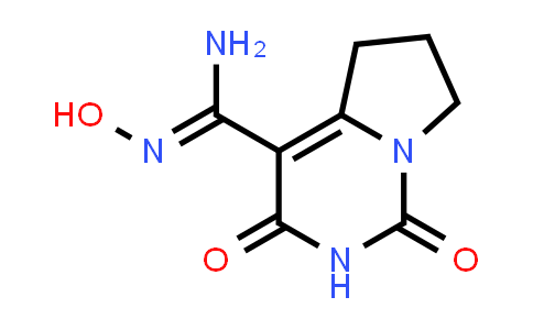 N'-Hydroxy-1,3-dioxo-6,7-dihydro-5H-pyrrolo[1,2-c]pyrimidine-4-carboxamidine