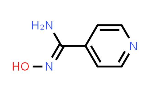 N'-Hydroxypyridine-4-carboxamidine