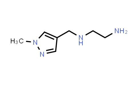 N'-[(1-methylpyrazol-4-yl)methyl]ethane-1,2-diamine