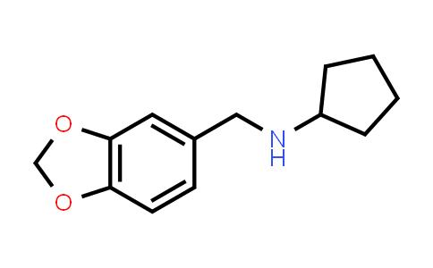 N-(1,3-Benzodioxol-5-ylmethyl)cyclopentanamine