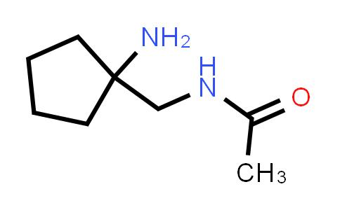 N-(1-Amino-cyclopentylmethyl)-acetamide