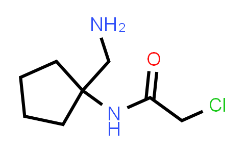 N-(1-Aminomethyl-cyclopentyl)-2-chloroacetamide