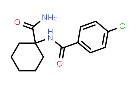N-(1-Carbamoyl-cyclohexyl)-4-chloro-benzamide