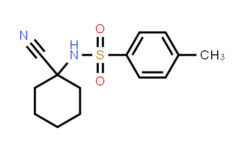 N-(1-Cyano-cyclohexyl)-4-methyl-benzenesulfonamide