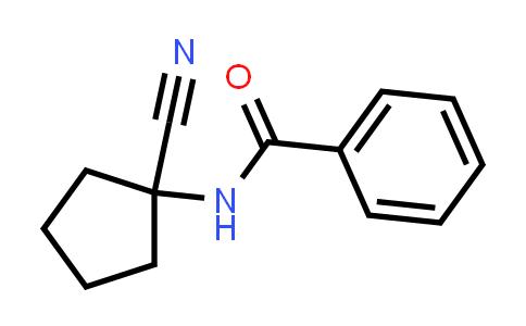 N-(1-Cyano-cyclopentyl)-benzamide