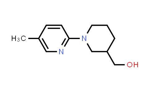 [1-(5-methyl-2-pyridyl)-3-piperidyl]methanol