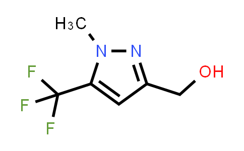 [1-Methyl-5-(trifluoromethyl)pyrazol-3-yl]methanol