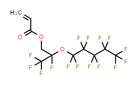 [2,3,3,3-tetrafluoro-2-(1,1,2,2,3,3,4,4,5,5,5-undecafluoropentoxy)propyl] prop-2-enoate