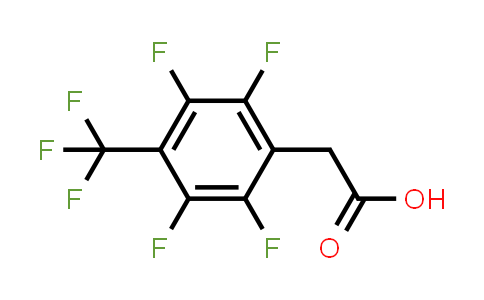 [2,3,5,6-Tetrafluoro-4-(trifluoromethyl)phenyl]acetic acid