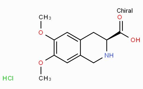 (S)-1,2,3,4-四氢-6,7-二甲氧基-3-异喹啉羧酸盐酸盐