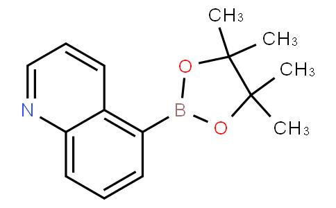 5-(4,4,5,5-tetramethyl-1,3,2-dioxaborolan-2-yl)quinoline