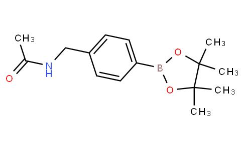 N-(4-(4,4,5,5-tetramethyl-1,3,2-dioxaborolan-2-yl)benzyl)acetamide