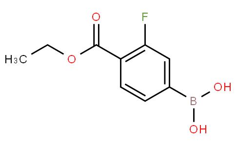 4-(乙氧羰基)-3-氟苯基硼酸