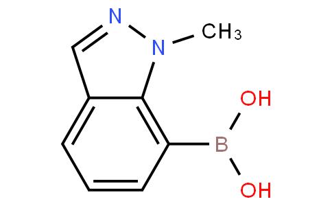 1-甲基-1H-吲唑-7-硼酸