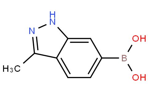 3-甲基-1H-吲唑-6-硼酸
