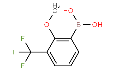 (2-methoxy-3-(trifluoromethyl)phenyl)boronic acid
