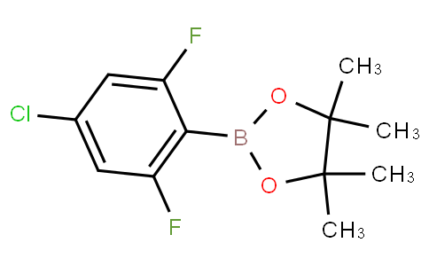2-(4-chloro-2,6-difluorophenyl)-4,4,5,5-tetramethyl-1,3,2-dioxaborolane
