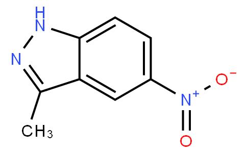 3-甲基-5-硝基-1H-吲唑