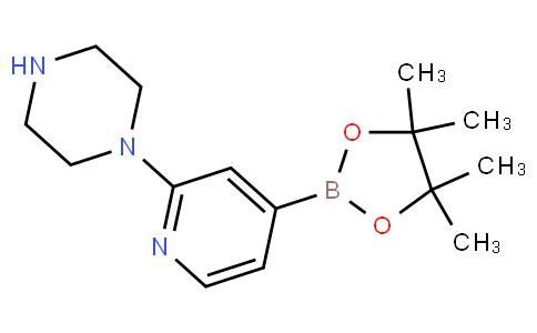 2-(1-哌嗪)吡啶-4-硼酸频哪酯