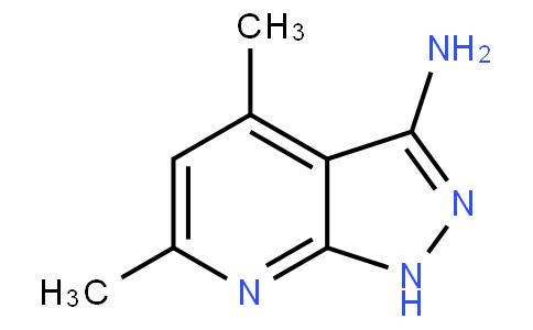 4,6-dimethyl-1H-pyrazolo[3,4-b]pyridin-3-amine