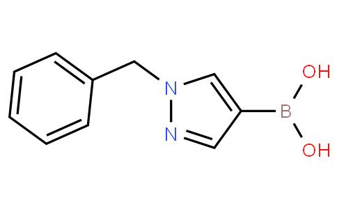 1-苯甲基-1H-吡唑-4-硼酸,95%