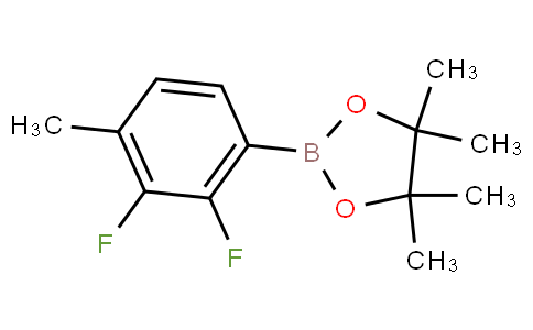 2-(2,3-difluoro-4-methylphenyl)-4,4,5,5-tetramethyl-1,3,2-dioxaborolane