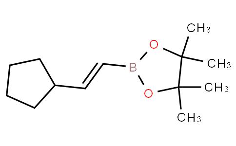 (E)-2-(2-cyclopentylvinyl)-4,4,5,5-tetramethyl-1,3,2-dioxaborolane