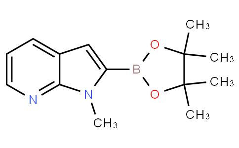 1-甲基-1H-吡咯并[2,3-B]吡啶-2-硼酸频哪醇酯