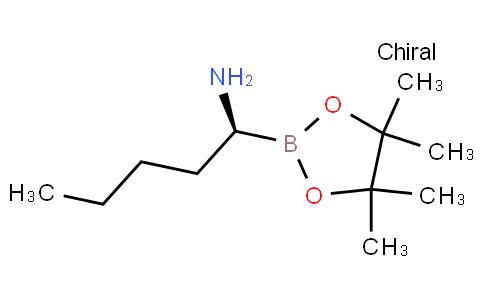 (S)-1-(4,4,5,5-tetramethyl-1,3,2-dioxaborolan-2-yl)pentan-1-amine