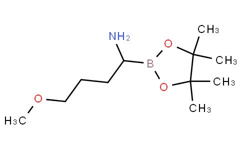 4-methoxy-1-(4,4,5,5-tetramethyl-1,3,2-dioxaborolan-2-yl)butan-1-amine