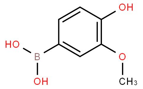 (4-羟基-3-甲氧基苯基)硼酸