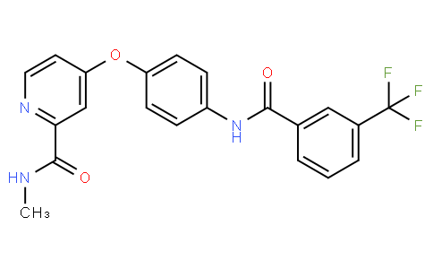 N-methyl-4-(4-(3-(trifluoromethyl)benzamido)phenoxy)picolinamide