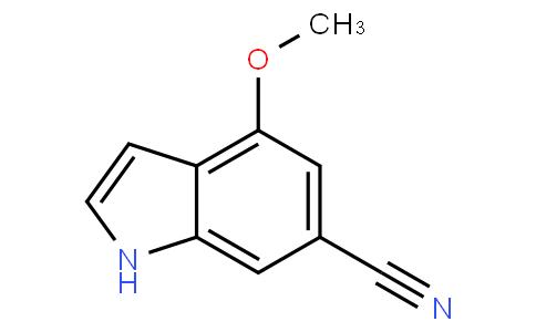 4-methoxy-1H-indole-6-carbonitrile