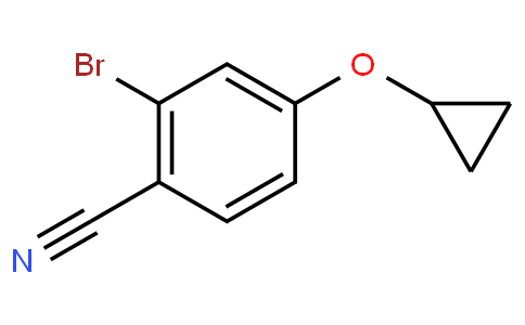 2-bromo-4-cyclopropoxybenzonitrile