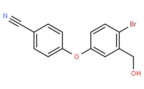 4-[4-溴-3-(羟基甲基)苯氧基]苄腈